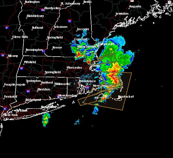 Interactive Hail Maps - Hail Map for Brewster, MA