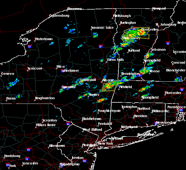 Radar Image for Severe Thunderstorms near Valatie, NY at 8/4/2015 12:42 PM EDT