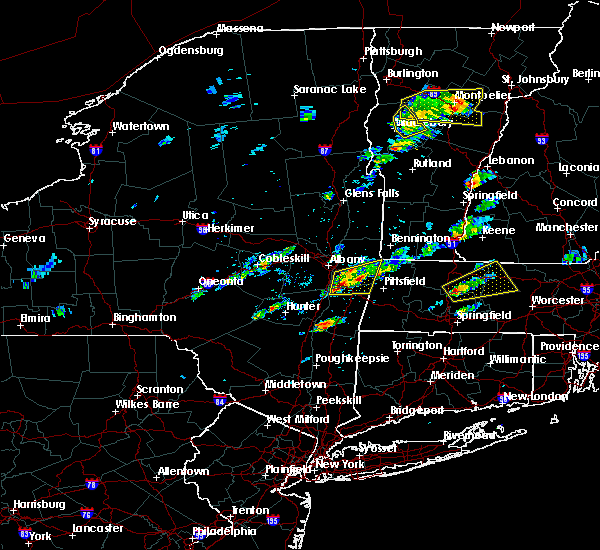 Radar Image for Severe Thunderstorms near Chatham, NY at 8/4/2015 12:47 PM EDT