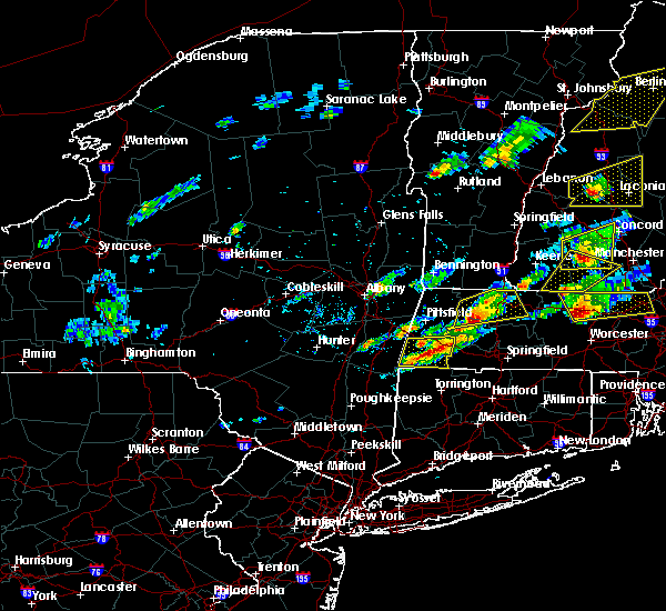 Radar Image for Severe Thunderstorms near Housatonic, MA at 8/4/2015 1:55 PM EDT