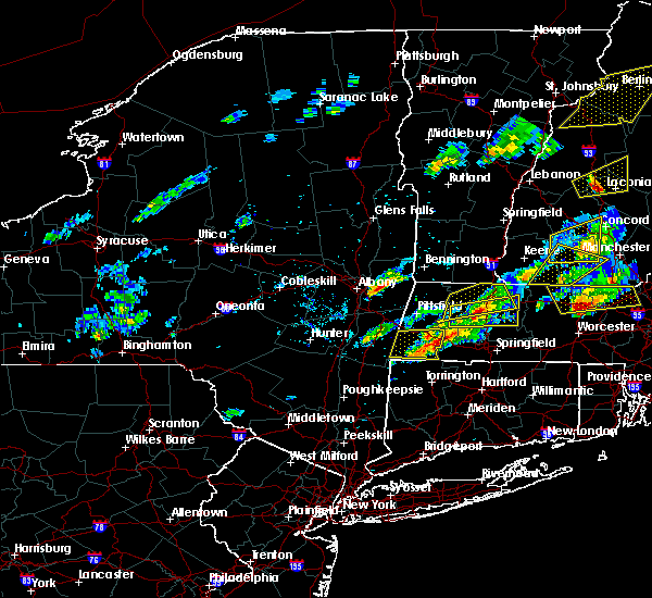 Radar Image for Severe Thunderstorms near Troy, NY at 8/4/2015 2:04 PM EDT