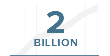 2 Billion graph