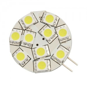 Warm White 12-volt LED Replacement Light Bulb