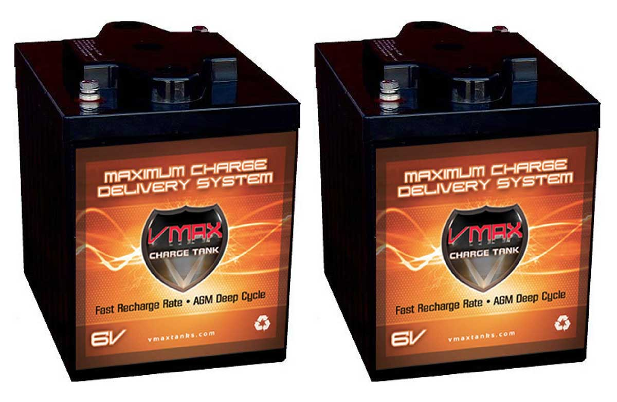 VMAx AGM 6-volt Batteries