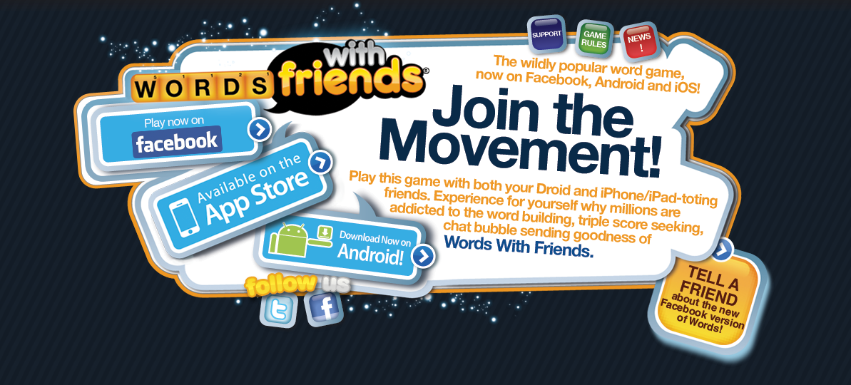 Aphonic over Words with Friends