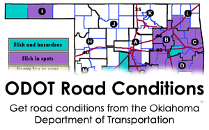 Oklahoma Weather Road Conditions | News OK on wichita street map, mo highway map, california highway conditions map, cdot state highway map, kansas interstate 70 road conditions, kansas flood of 1951, kansas road conditions hotline, ks highway map, road condition map, mcpherson county floodplain map, kansas fossils, kansas highway road map, kansas-nebraska highway map, kansas floodplain maps, kansas walk-in hunting areas, saskatchewan highway conditions map, kansas to colorado, birmingham al airport map, kansas i-70 road conditions,