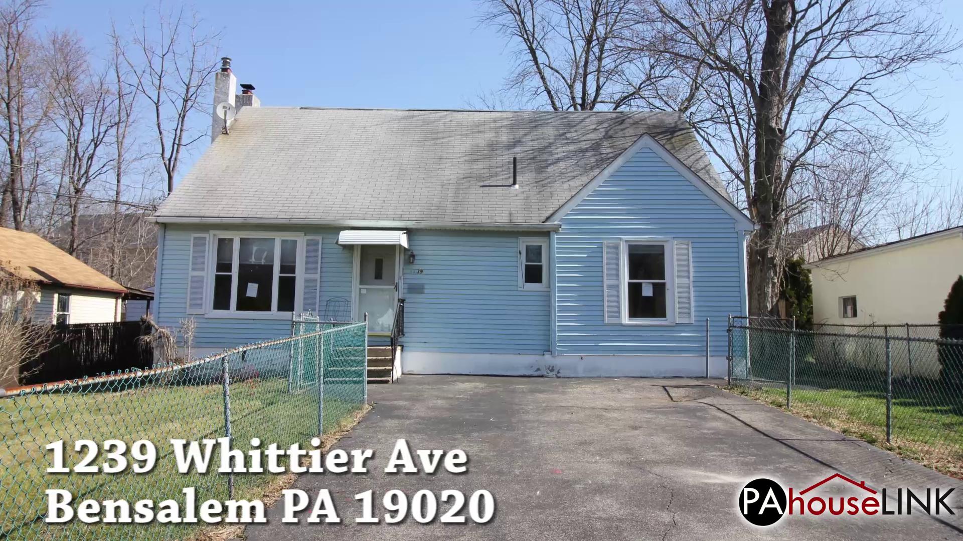1239 Whittier Ave Bensalem PA 19020 | Foreclosure Properties Bensalem PA 19020