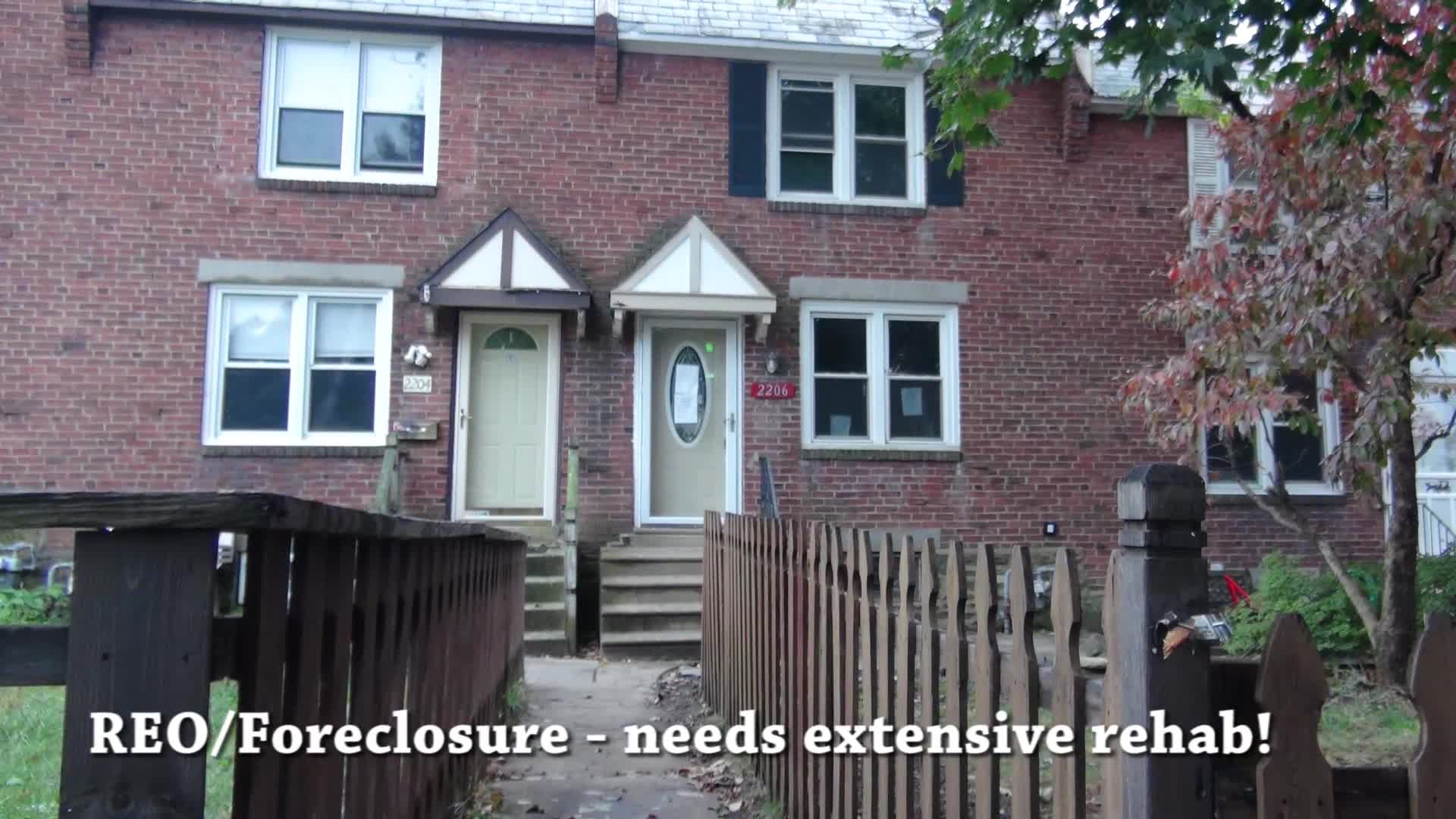 2206 Bond Drexel Hill PA 19026 – Foreclosure Properties Drexel Hill PA 19026