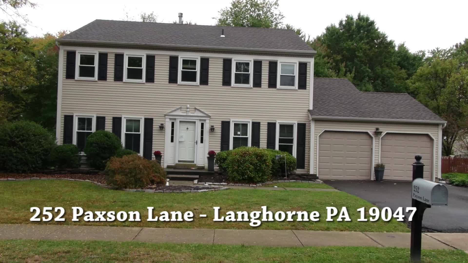 Foreclosure Homes in Langhorne PA 19047 | 252 Paxson Lane