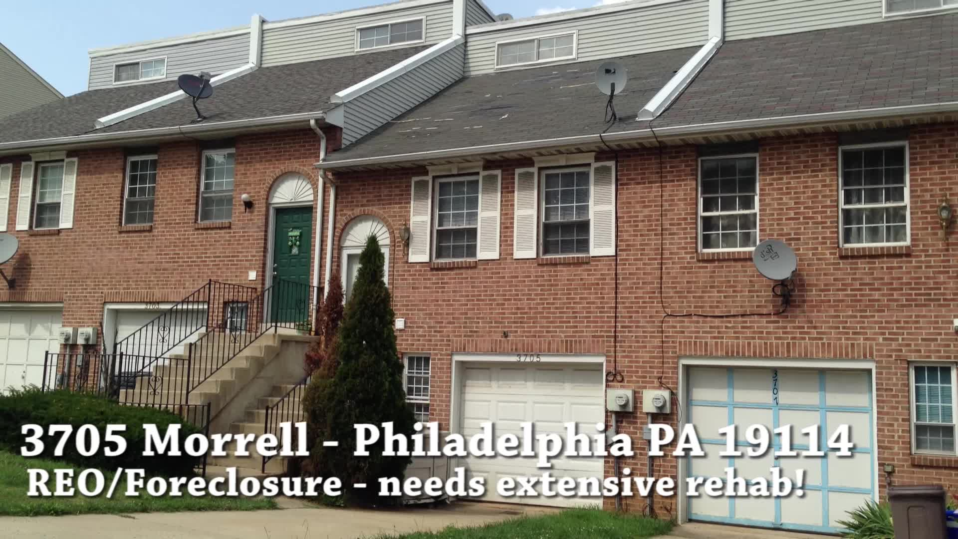3705 Morrell Ave Philadelphia PA 19114 – Foreclosure Properties Philadelphia PA 19114