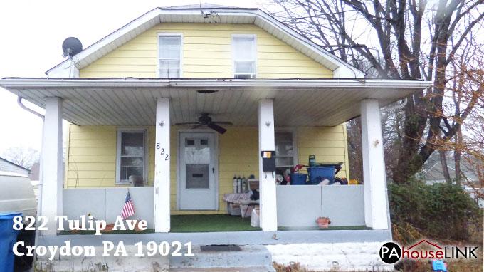 822 Tulip Ave Croydon PA 19021 | Foreclosure Properties Croydon PA 19021