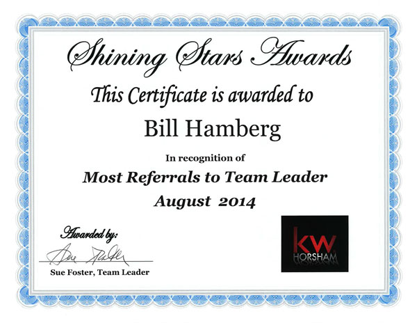 Award-Most-Referrals-to-Team-Leader-August-2014