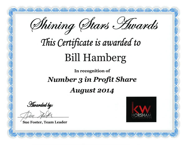 Awards-Number-3-in-Profit-Share-August-2014