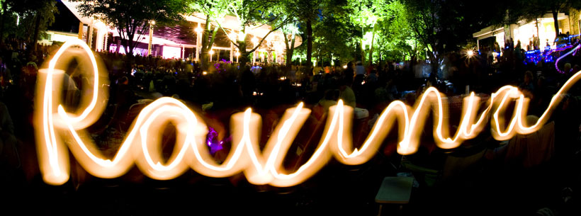 Ravinia Festival light art
