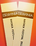 Ravinia Tickets red