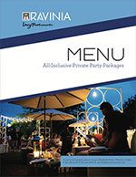 All Inclusive Private Party Menu