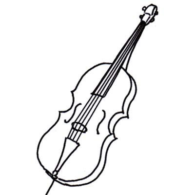 How To Draw A Violin Step 7