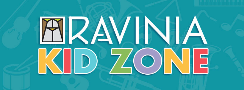 Kid Zone header