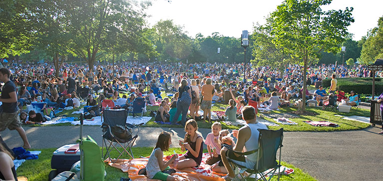 Ravinia Festival Official Site Venues The Lawn