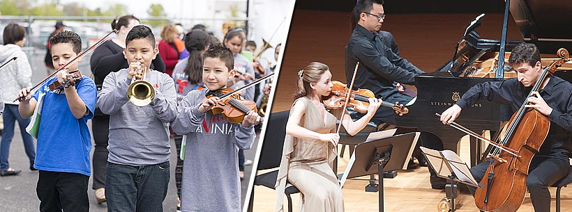 Music Education at Ravinia Festival | Catylst Students