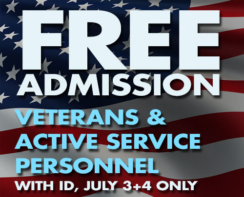 Free Admission for Military Members