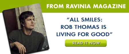 Rob Thomas Ravinia Magazine