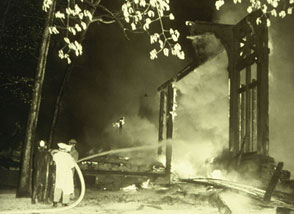 May 1949 Pavilion Fire