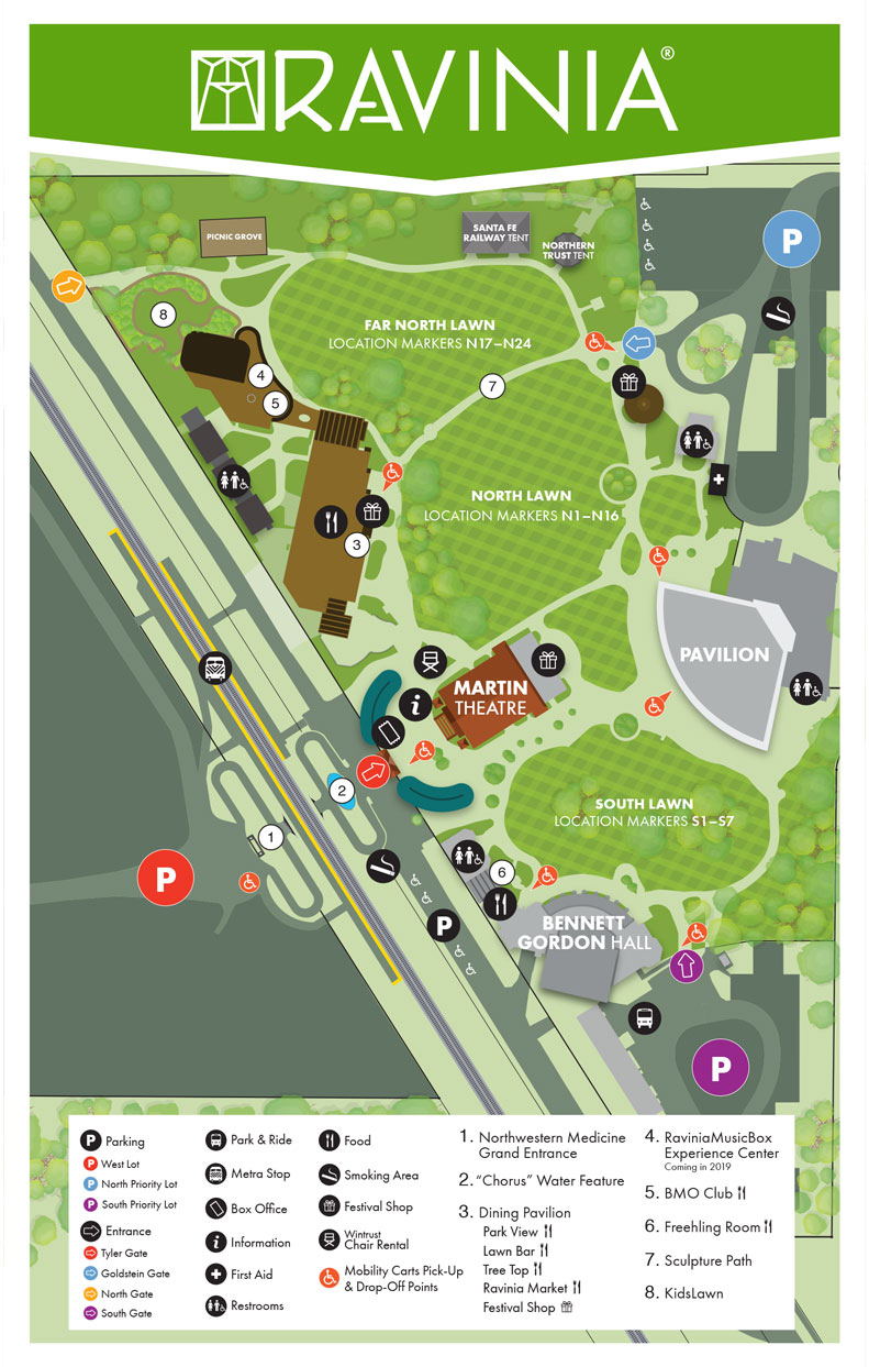 Accessibility Park Map