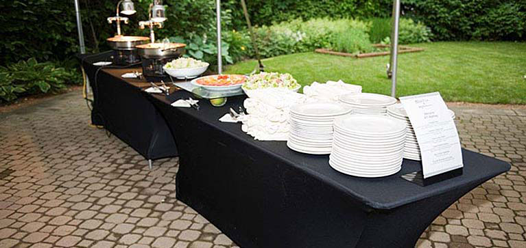 Tent Event Buffet