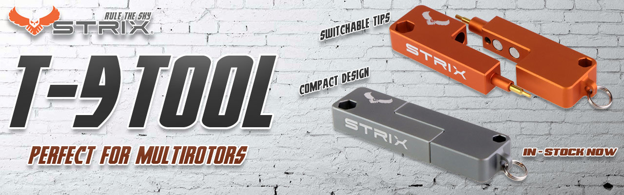 STRIX T-9 Tool the perfect All in One tool