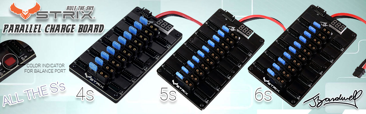STRIX JB Parallel Charge Board for 4s,5s,and 6s