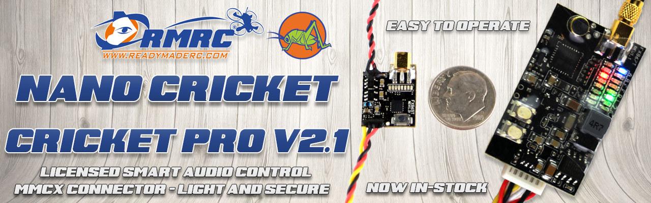 RMRC Cricket Nano and Cricket Pro V2