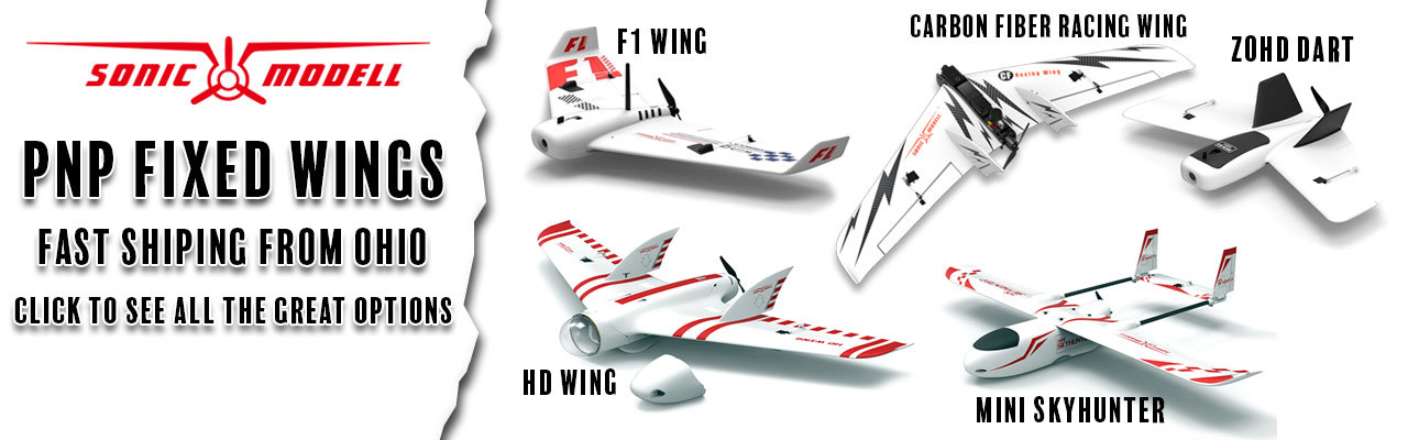 Sonic Modell PNP Fixed Wing Airplanes