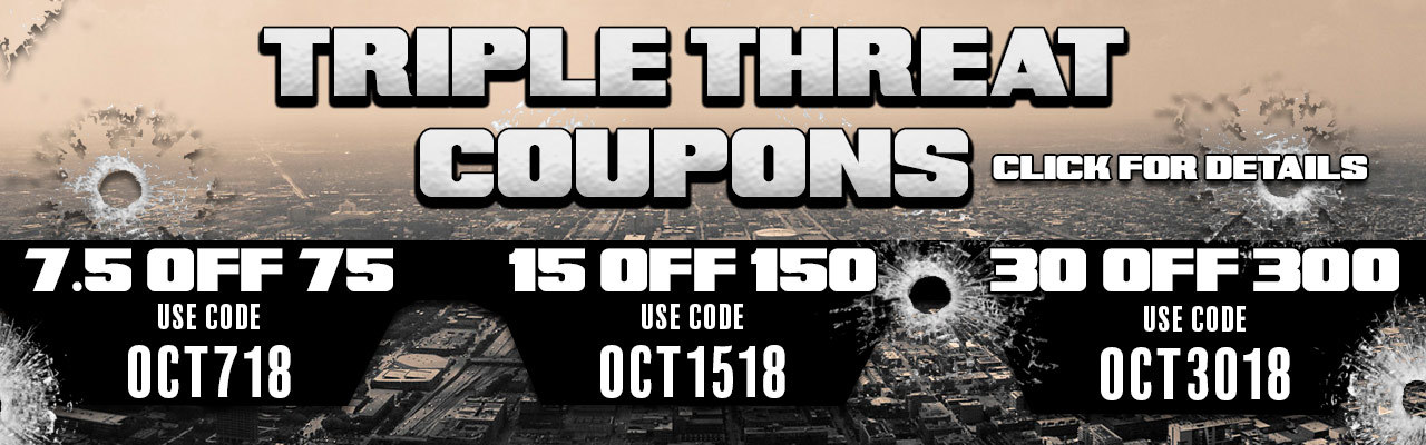 Triple Threat Coupons Deal