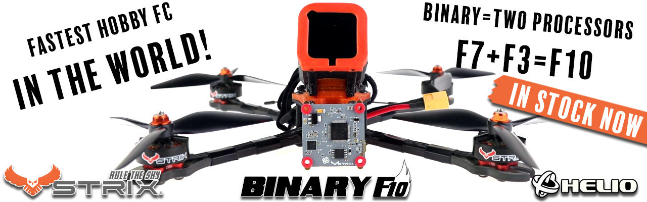 STRIX Binary F10 Flight Controller