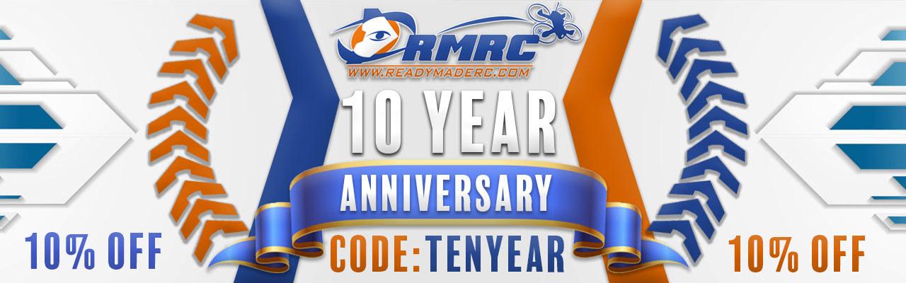 ReadyMadeRCs 10 year Anniversary