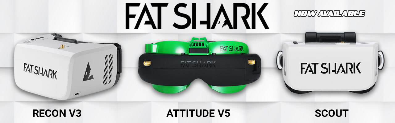 The best FPV Goggles From FatShark