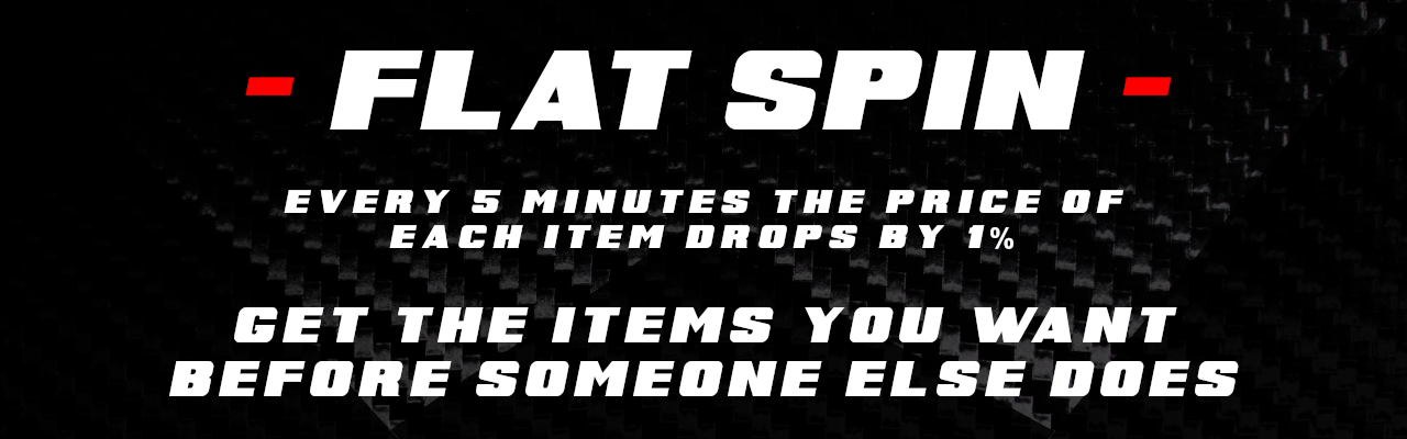 Flatspin sales starting noon Thanksgiving day through Cyber Monday!