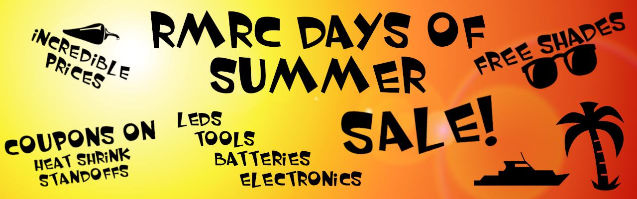 RMRC Days of Summer Sale