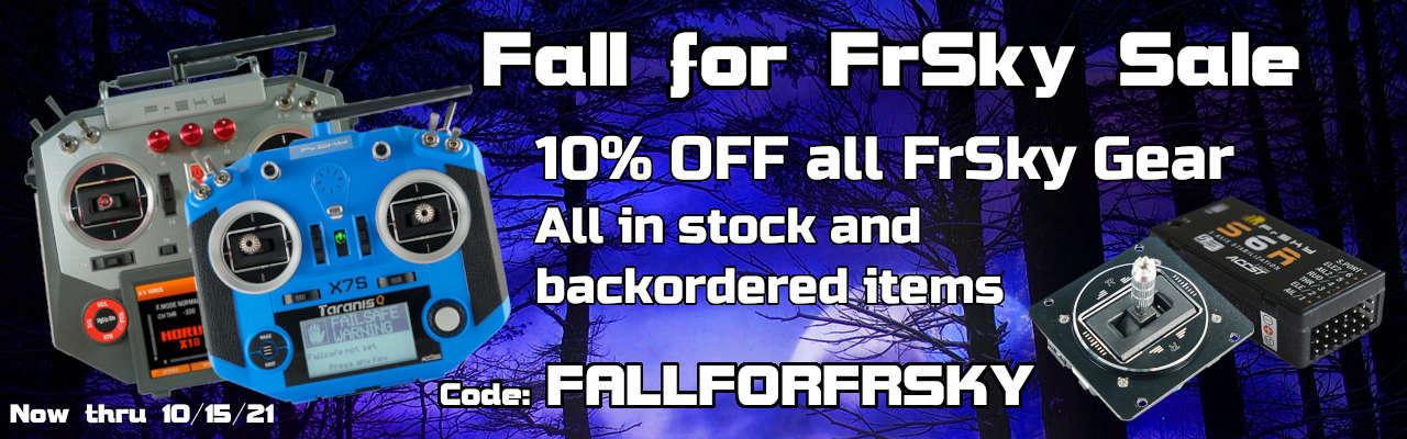 Fall for FrSky Sale