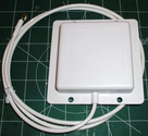 2.4 GHz 8 dBi Flat Patch Antenna - 4ft SMA Male Connector