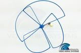 VAS - 1.3GHz Skew-Planar Wheel Antenna RHCP - Right Angle