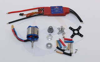 Zephyr II, XL Motor/ESC Package