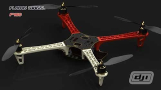 DJI Flame Wheel F450 ARF Kit Includes Motors, ESC & Propellers