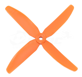 Direct Drive HQ Prop - Glass Fiber - 5x4x4 Orange (2CW, 2CCW)