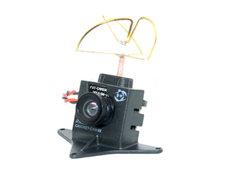 RMRC Cricket Cam V2 - 5.8 GHz 25mw - RHCP Antenna