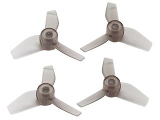 RakonHeli 3 Blade Clear Propeller (2CW,2CCW) 40mm - Black