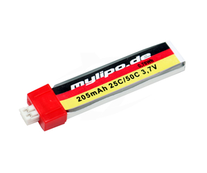 MMW - LiPo 205mah/25C 1S (PH2 Connector)
