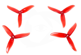 Dalprop Cyclone Series T5045C FPV Propeller Crystal Red