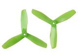 Gemfan Master - 5 x 4.5 x 3 (2CW, 2CCW) Green